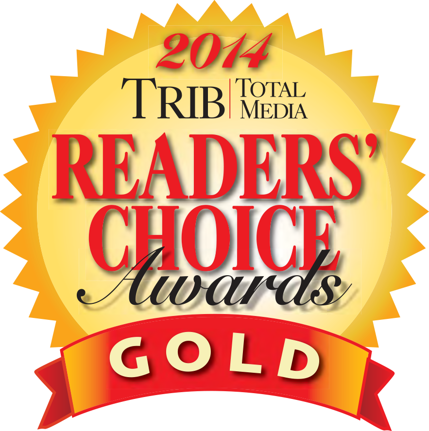 2014 Trib Total Media Readers' Choice Awards - Gold Winner